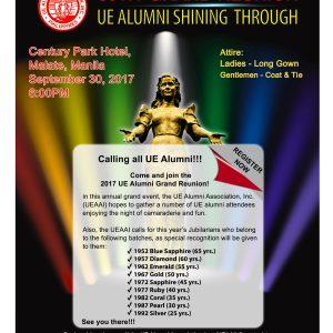 69TH Grand Reunion UE Alumni Shining Through