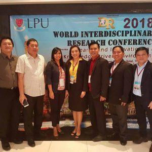 Pioneer UE DIT Graduates, Graduating Students Make Paper Presentations at Int'l Conference