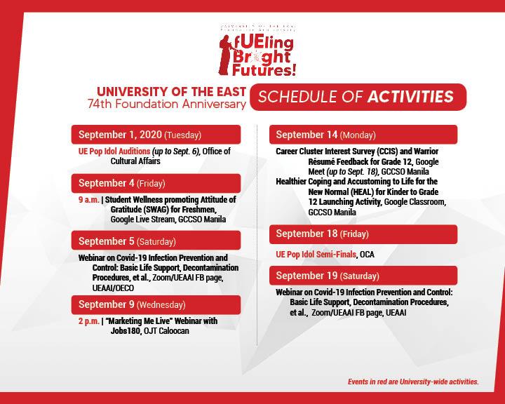 74TH Anniv Schedule of Activities-FB2